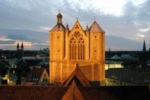 Blick vom Rathaus auf den Dom St.Blasius